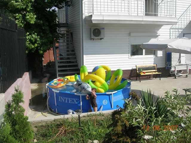 Детский отдых в Аше, детский бассейн в Аше, все для моря Аше