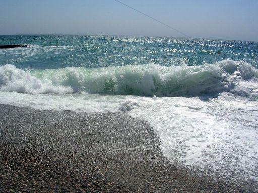 ОТДЫХ В АШЕ НА МОРЕ, пляж поселка Аше, пляжный отдых в Аше